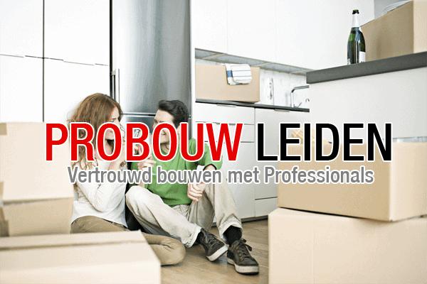Nieuwe woning? Probouw Leiden maakt van uw huis uw thuis.